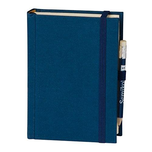 Petit Voyage marine +++ 152 sheets hand made paper (blank) +++ stylish travel diary +++ Quality made by Semikolon