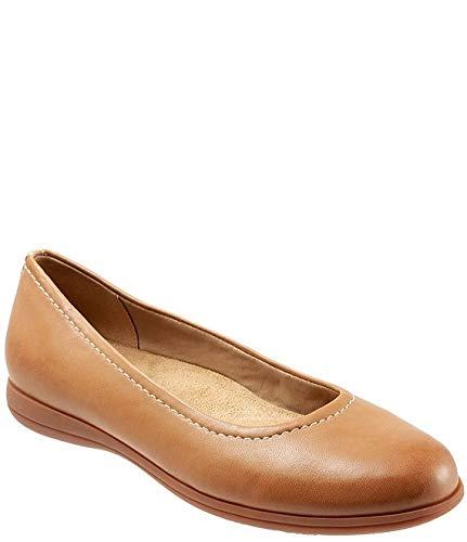 [トロッターズ] シューズ 24.5 cm スリッポン・ローファー Darcey Leather Ballet Flats Tan レディース [並行輸入品]