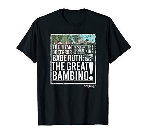 The Sandlot The Great Bambino T-Shirt