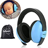 Protección Auditiva para Bebés Orejera Antiruido Niños Autismo 0-5 Años 31dB SNR Cancelación de Ruido Auriculares para Dormir Estudiar Avión Conciertos Teatro Fuegos Artificiales, Azul