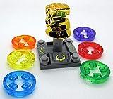 Kopf Infinity Gauntlet Chrome Minifigure Infinity War 24 Stones