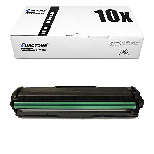 10x Eurotone Toner Cartridge for Dell B 1160 1163 1165 w nfw replaces 593-11108 HF44N