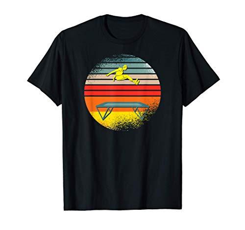 Trampolin de Jardín Fitness Gimnasta retro Trampolin Camiseta