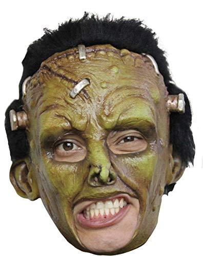 Generique - Masque créature Frankenstein Verte Adulte Halloween