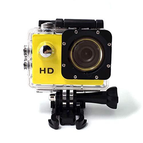 CYYMY Action Cam, 1080p 30M con Fotocamera Subacquea Digitale, Hyper Stabilizzazione Videocamera,170° Grandangolare,Utilizzato per Sport e attività, Immersioni, Nuoto, Corsa, Ciclismo, ECC,3
