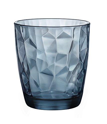 Bormioli Rocco Set da 6 Bicchieri Diamond Acqua cl. 30,5, confezione da 6