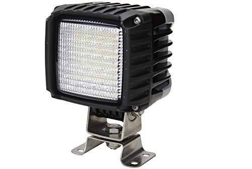 HELLA 1GA 996 192-081 Arbeitsscheinwerfer - Power Beam 3000 - LED - 12V/24V - 3000lm - Anbau - 4-Punkt Befestigung/stehend - Nahfeldausleuchtung - Stecker: DEUTSCH - 2-polig