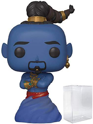 Disney: Aladdin Live Action - Genie Funko Pop! Vinyl Figure (Includes Compatible Pop Box Protector Case)