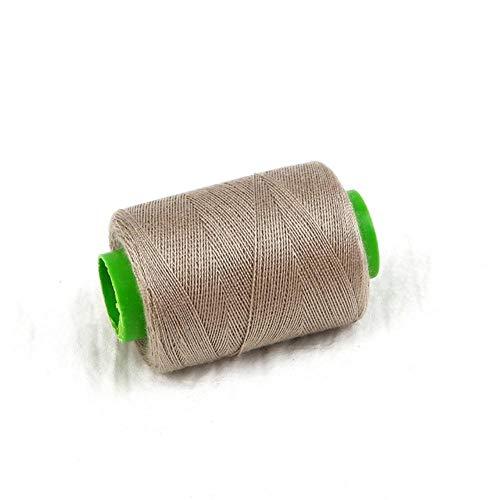 Mingi 1pc Tenacity Cotton Machine Hilos de Coser Bordados Hilo de Coser a Mano Craft Patch Inicio Suministros de Costura del Volante, Gris
