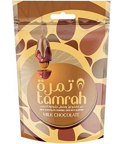 80g chocolade dadels met melkchocolade en amandelen nieuw en van betere kwaliteit