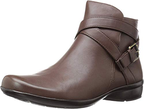 Naturalizer Womens Cassandra Ankle Bootie, Brown, 7.5 M US