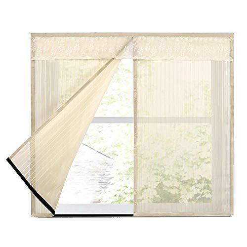 Fliegengitter Tür Fenster Insektenschutz Magnet Fliegenvorhang Für Schiebefenster Dachfenster