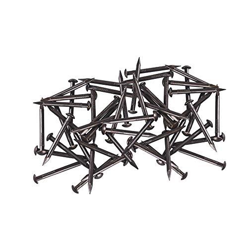 DIMENXONG Eisenwaren/Nägel, Schrauben & Befestigungen 30pcs 35X2.8MM Chinese Archaize Rundkopf Antike Bronze Holznägel for Möbel DIY dekorative Kästen