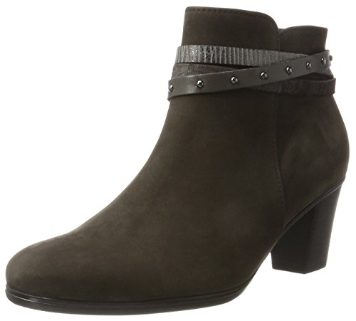 Gabor Shoes Gabor Basic, Botas Mujer, Gris (19 Anthrazit Kombi), 38 EU