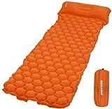 MARCHWAY Ultraleichte, aufblasbare Schlafkissen, langlebig, kompakt, tragbar, für...