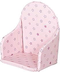 Pinolino Bezug f/ür Sitzverkleinerer f/ür Treppenst/ühle Punkte rosa
