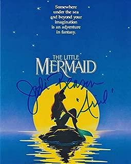 Jodi Benson (The Little Mermaid) signed 8x10 photo