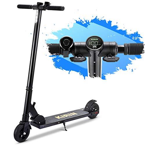 urbetter Monopattino Elettrico Pieghevole, velocità Fino a 25 km/h, 15 Km di Autonomia, 8kg Ultra Leggero Electric Scooter per Donna e Adolescente Bambini