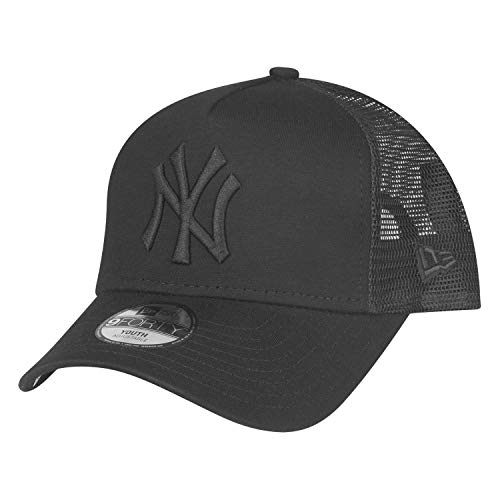 New Era 9Forty Kids Trucker Cap - NY Yankees schwarz - Youth