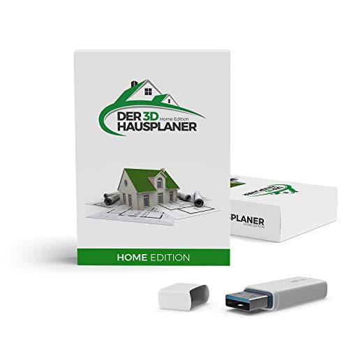 Der 3D Hausplaner Home Edition - 3D CAD Software - planen Sie Ihr neues Zuhause einfach, maßgenau und professionell - der Architektur- & Hausplaner mit Grundrissen und 3D Visualisierung