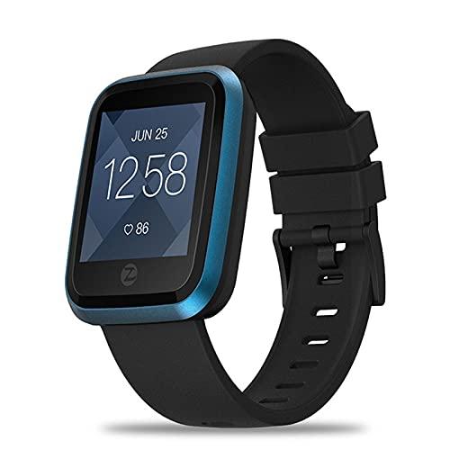 LSQ Crystal 2 Smart Watch IP67 Impermeable Impermeable Color De Alta Definición Display Smart Watch Cardio Relojes Inteligentes Hombres Mujeres,Azul