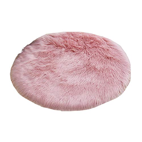 Learn More About CarPet Round Bedroom Dressing Table Super Soft Fluffy Small Mat (Color : Pink, Size...