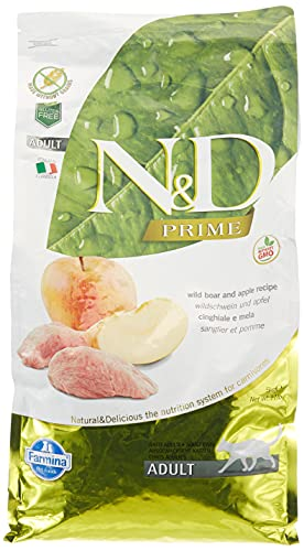 N&D Grain Free Cat Cinghiale Grain Free Gatto Secco