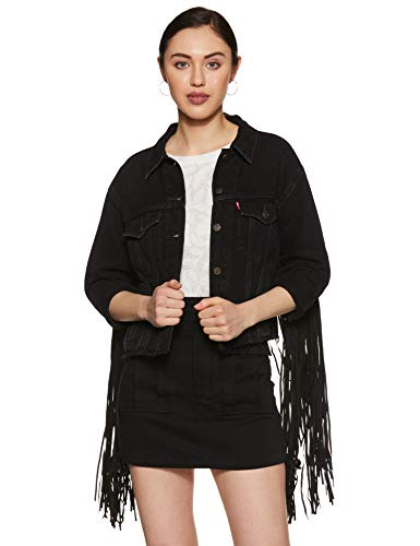 Levi's Women's Jacket (75683-0001_Black_S)