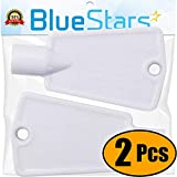 Ultra Durable 297147700 Freezer Door Key Replacement part by Blue Stars - Exact Fit for Frigidaire Kenmore...