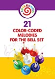 21 Color-coded melodies for Bell Set: Color-Coded visual for 8 Note Bell Set