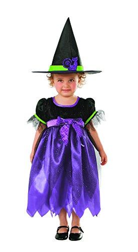 Rubies- Disfraz infantil brujita Glitter, T (1-2 años) (Rubie
