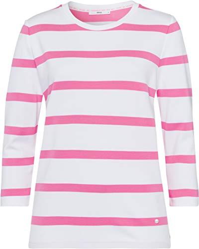 BRAX Damen Style Bobbie Sweatshirt, PINK, X-Large (Herstellergröße: 42)