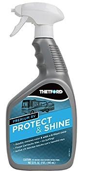 Thetford Premium RV Protect & Shine - Spray Carnauba Wax Treatment for RVs - Cars - Boats - Motorcycles - 32 oz 32755