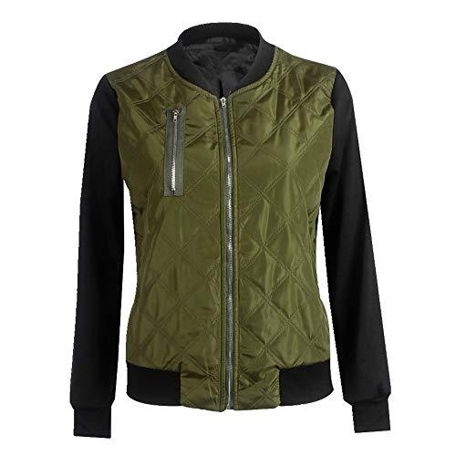 N\P Chaquetas de mujer Slim Ladies Jacket Coat Zip Otoño Casual Tops Niñas