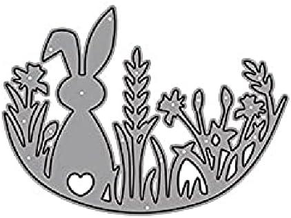 HAS MOUNTAIN - Metal Limited price sale Cutting Dies Financial sales sale Decorat Animal Rabbit Die Mold