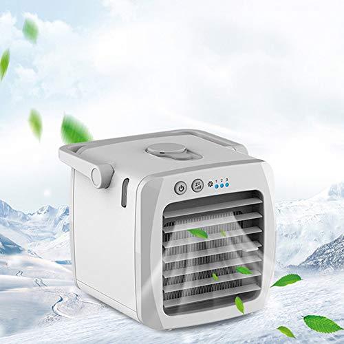 RUIMI Tragbare Anion Micro Klimaanlage,Kleine Klimaanlage,Kalter und Nasser Lüfter,Leises Kühl und Befeuchtungsspray,USB Familienauto, Externer Lüfter,für Schlafzimmer,Auto