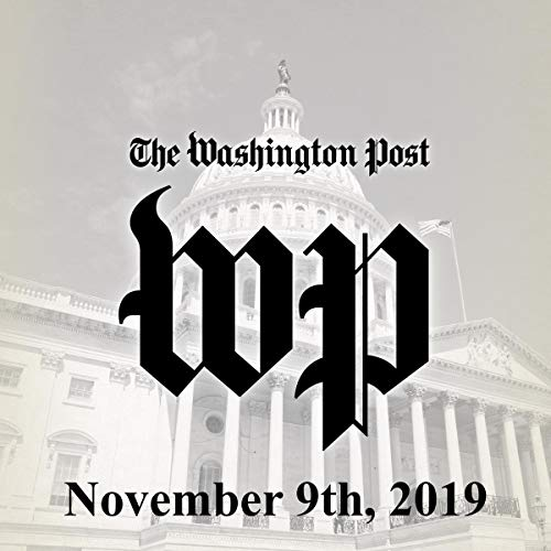 November 9, 2019 copertina