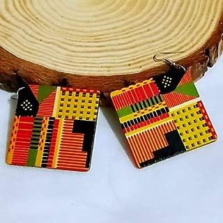 Amazon.es: pendientes de madera - Mujer: Joyería