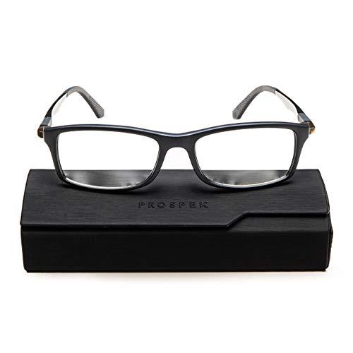 PROSPEK Blue Light Blocking Glasses Dynamic +0.0 Magnification - Anti Blue Light Glasses - Large Size