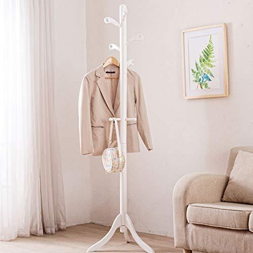 Eenvoudige Effen Hanger Landing Home Slaapkamer Hanger Eenvoudige Rekken Creatieve Opslag Rack Grootte: 179x50x50cm kapstok (Kleur : Wit)