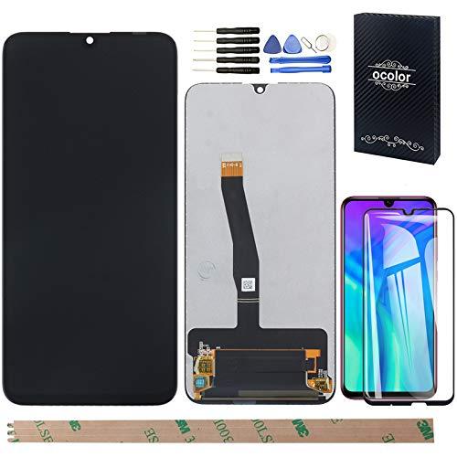 """YHX-OU 6.21"""" Display per Huawei P Smart 2019 P Smart 2020 P Smart Plus 2019 Enjoy 9S di Riparazione LCD Display Schermo Touch Screen Digitizer E Strumenti di Installazione+Vetro temperato(Nero)"""