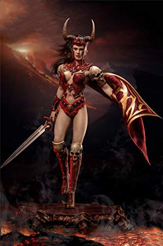 XLST 1/6 Scale Female Seamless Action Figure Goddess of War Saraya Collectible Model Doll Toys (Tbleague PL2020-161)