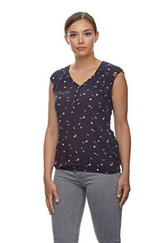 Ragwear Bluse Damen Salty A 2111-10031 Blau Navy 2028, Größe:S
