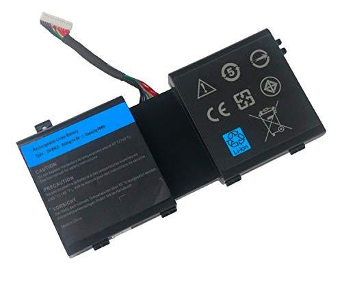 ASKC 2F8K3 - Batería de Repuesto para DELL Alienware 17 17x M17x...