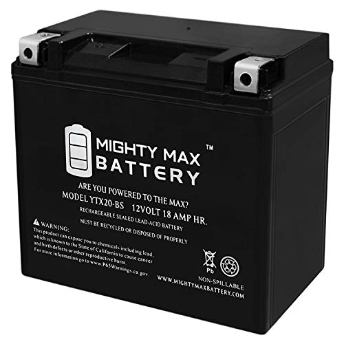 Mighty Max Battery 12V 18Ah Battery for Harley-Davidson 883 XL, XLH (Sportster) 1986-1996 Brand Product