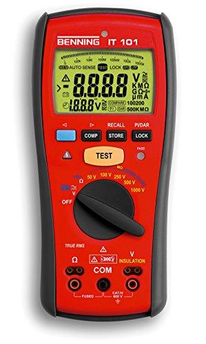 Benning IT 101 Messgerät für Isolation und Widerstand, 044033