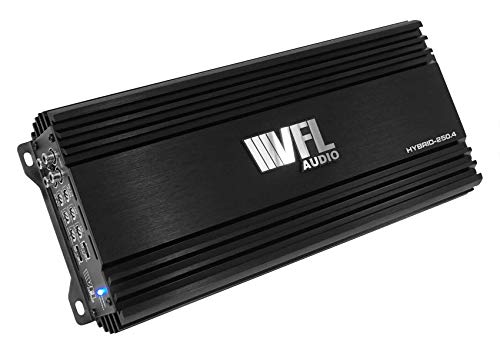 American Bass VFLHYBRID2504 Vfl Hybrid Amplifier 1000 Watts 4 Channel