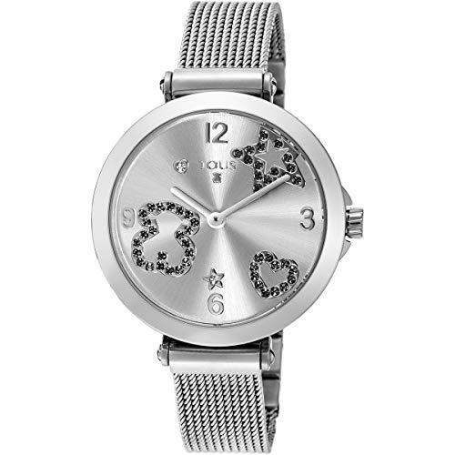 Reloj Tous Icon Mesh de acero con espinelas Ref.600350380