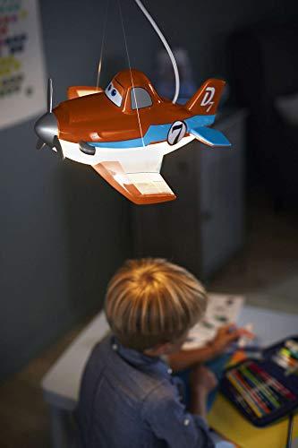 Philips Disney et Suspension Suspension Planes orange