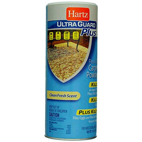 Hartz UltraGuard Plus Flea & Tick Carpet Powder